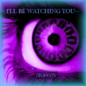 Purple Eye With Watch Iris