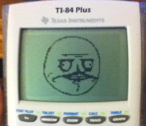 graphing calculator art