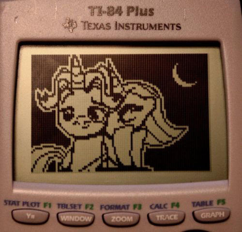 graphing calculator art my little pony
