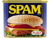 spam fake canned meat