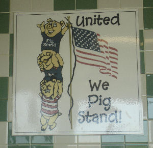 united we pig stand