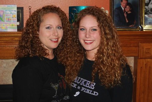 downright freaky parent_child lookalikes curly hair mother and daughter
