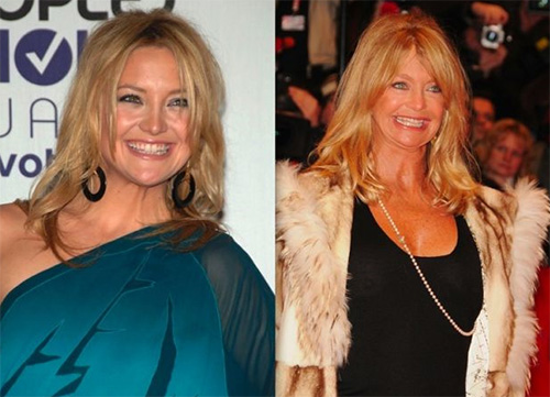 downright freaky parent_child lookalikes kate hudson goldie hawn