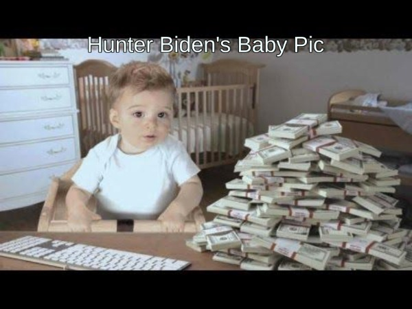 Hunter Biden's baby photo.