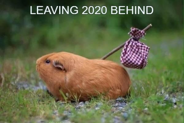 LEAVING 2020 BEHIND